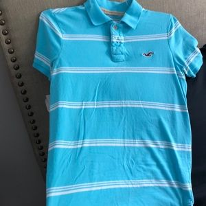 Hollister Men's Polo Shirt.